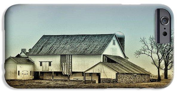 Bucks County iPhone Cases - Bucks County Farm iPhone Case by Bill Cannon