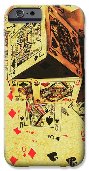 IPhone 6 Case featuring the photograph Building Bets And Stacking Odds by Jorgo Photography - Wall Art Gallery