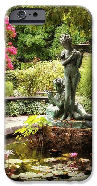 Burnett Fountain Garden IPhone 6 Case by Jessica Jenney