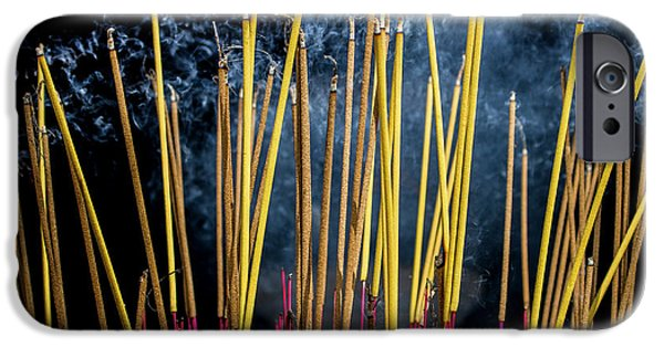 Burning Joss Sticks IPhone 6 Case by Hitendra SINKAR