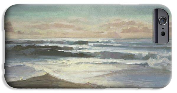 Pacific Ocean iPhone 6 Case - By Moonlight by Steve Henderson