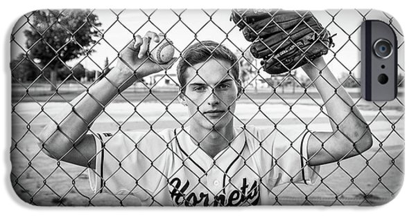 IPhone 6 Case featuring the photograph Caged Competitor by Bill Pevlor