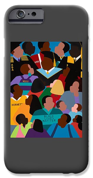 iPhone 6 Case - Called To Serve Inspiring Change by Synthia SAINT JAMES