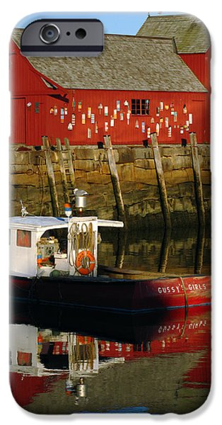 Fishing Shack iPhone Cases - Cape Ann Photography iPhone Case by Juergen Roth