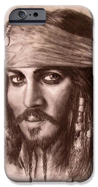 Jack Skinner iPhone Cases - Capt.Jack iPhone Case by Jack Skinner