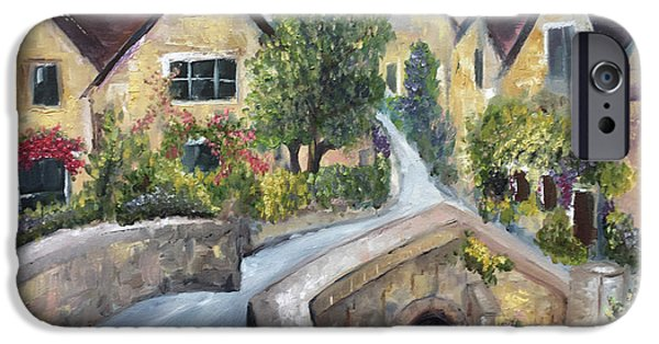 iPhone 6 Case - Castle Combe by Roxy Rich