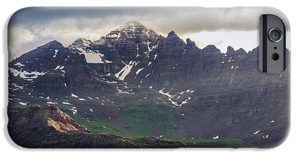 IPhone 6 Case featuring the photograph Castle Peak by Aaron Spong