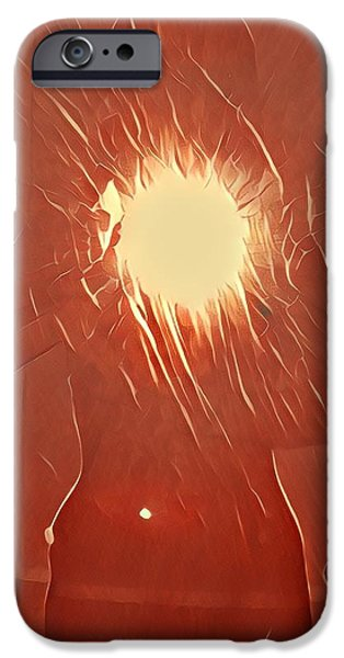 iPhone 6 Case - Catching Fire by Gina Callaghan