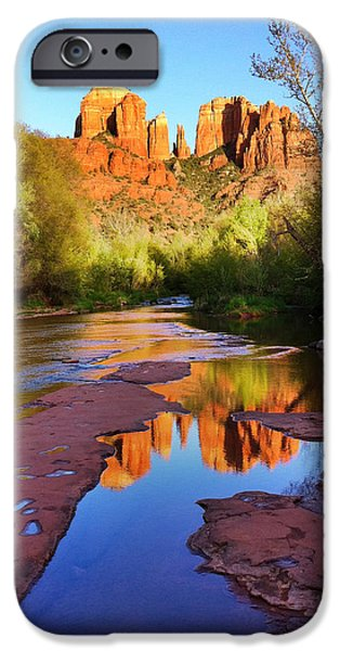 Cathedral Rock iPhone Cases - Cathedral Rock Sedona iPhone Case by Matt Suess