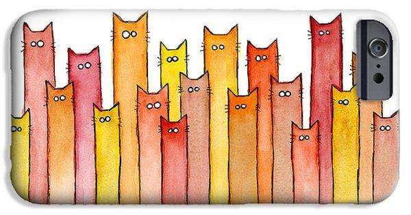 Cats Autumn Colors IPhone 6 Case