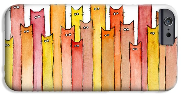 Cats Autumn Colors IPhone 6 Case