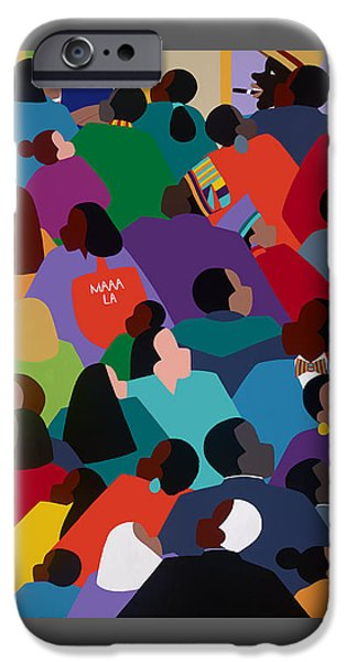 iPhone 6 Case - Celebration Maaa-la by Synthia SAINT JAMES