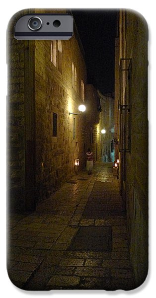 IPhone 6 Case featuring the photograph Chanukah At The Old City Of Jerusalem by Dubi Roman