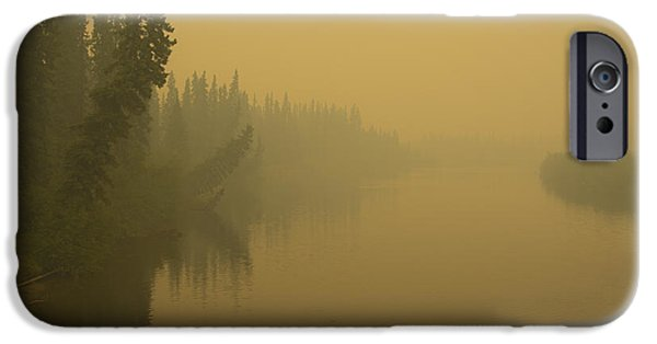 IPhone 6 Case featuring the photograph Chena River by Gary Lengyel