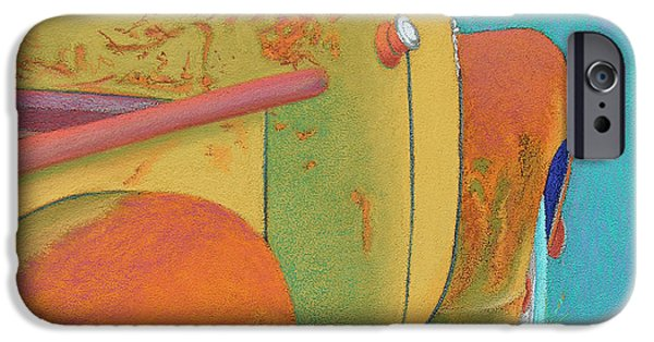 Rust Pastels iPhone Cases - Chevy Summer iPhone Case by Tracy L Teeter