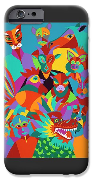 iPhone 6 Case - Chinese New Year by Synthia SAINT JAMES