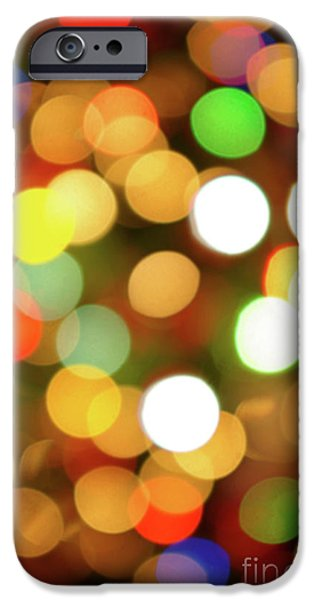 Indoor iPhone Cases - Christmas Lights iPhone Case by Carlos Caetano
