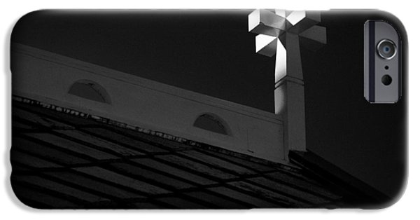 Norway iPhone Cases - Church Cross iPhone Case by Dave Bowman