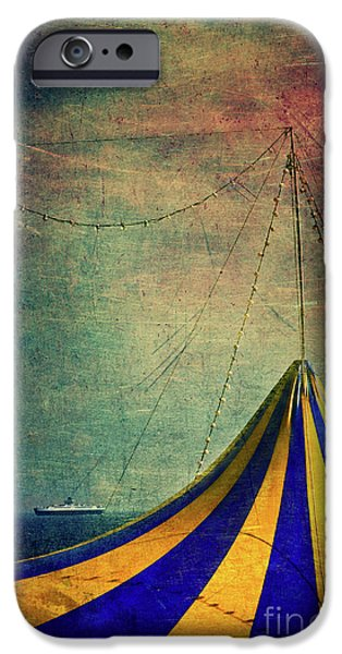 Circus With Distant Ships II IPhone 6 Case by Silvia Ganora