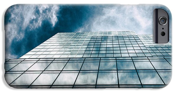 IPhone 6 Case featuring the photograph City Sky Light by Jessica Jenney