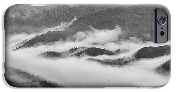 IPhone 6 Case featuring the photograph Clouds In Valley, Sa Pa, 2014 by Hitendra SINKAR