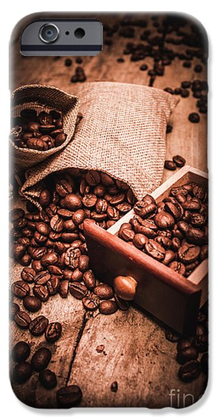 Coffee Bean Art IPhone 6 Case