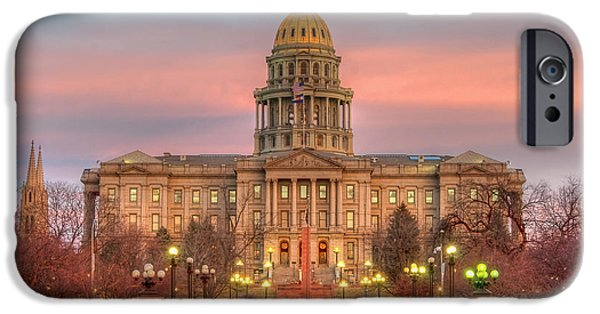 IPhone 6 Case featuring the photograph Colorado Capital by Gary Lengyel