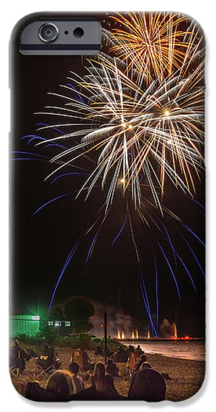 IPhone 6 Case featuring the photograph Colorful Kewaunee, Fourth by Bill Pevlor