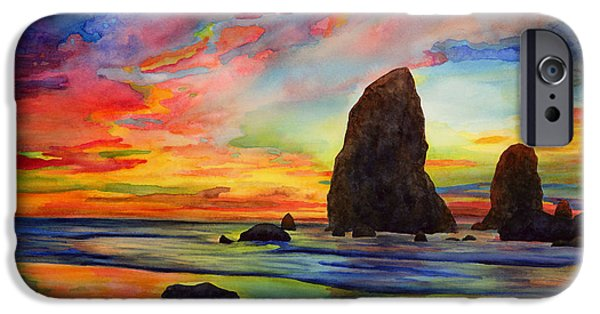 Colorful iPhone 6 Case - Colorful Solitude by Hailey E Herrera