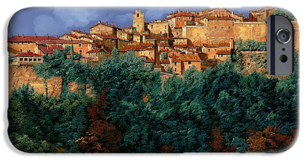 D iPhone Cases - colori di Provenza iPhone Case by Guido Borelli