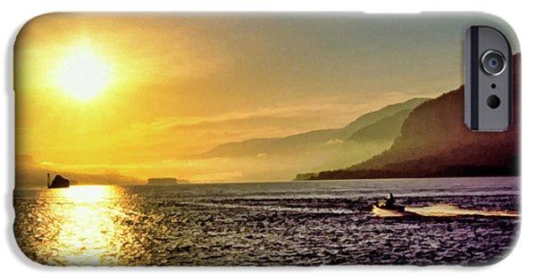 Jet Ski iPhone 6 Case - Columbia River 001 by Scott McAllister