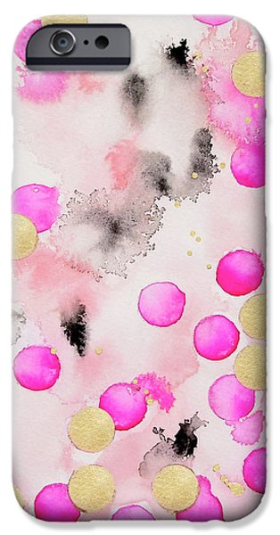 Contemporary iPhone 6 Case - Confetti by Roleen Senic