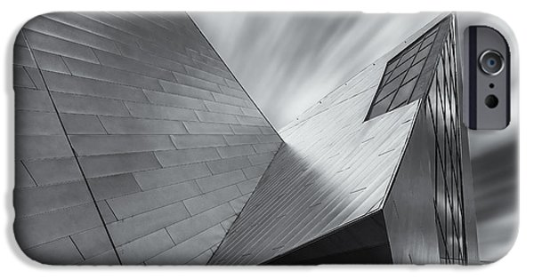IPhone 6 Case featuring the photograph Contemporary Architecture Of The Shops At Crystals, Aria, Las Ve by Adam Romanowicz
