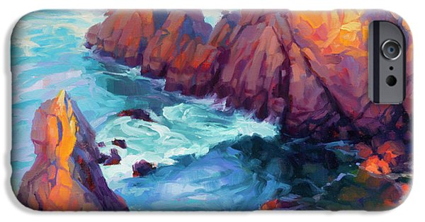 Pacific Ocean iPhone 6 Case - Convergence by Steve Henderson