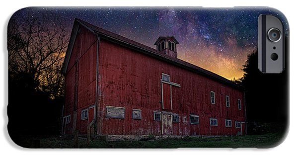 IPhone 6 Case featuring the photograph Cosmic Barn by Bill Wakeley