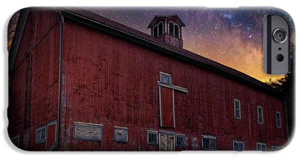 IPhone 6 Case featuring the photograph Cosmic Barn Square by Bill Wakeley