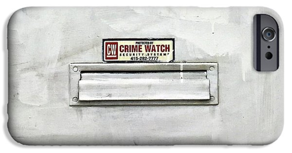 iPhone 6 Case - Crime Watch Mailslot by Julie Gebhardt
