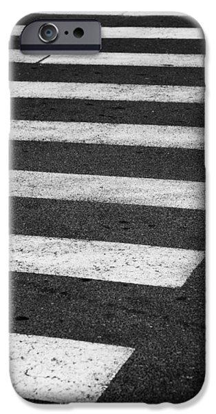 Crosswalk iPhone Cases - Crosswalk iPhone Case by Gabriela Insuratelu