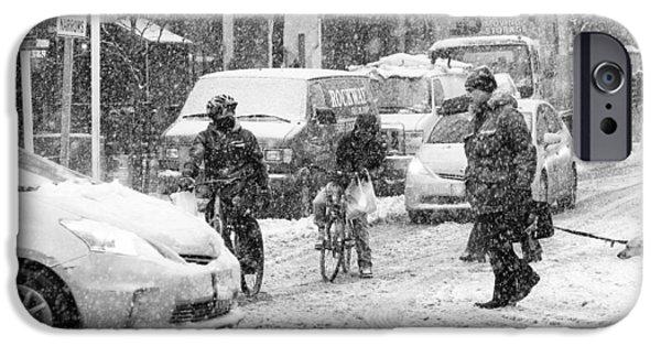 Crosswalk In Snow IPhone 6 Case