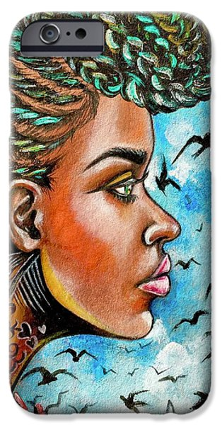 iPhone 6 Case - Crowned Royal by Artist RiA