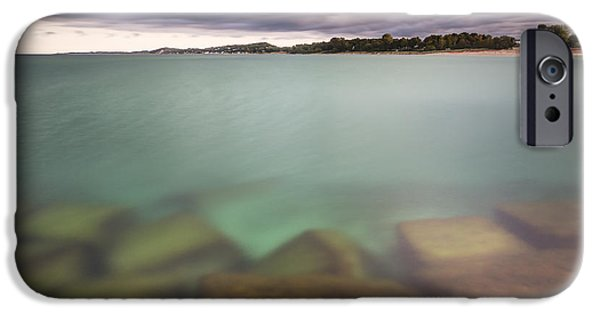 IPhone 6 Case featuring the photograph Crystal Clear Lake Michigan Waters by Adam Romanowicz