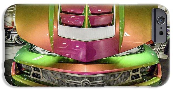 IPhone 6 Case featuring the photograph Custom Camaro by Randy Scherkenbach