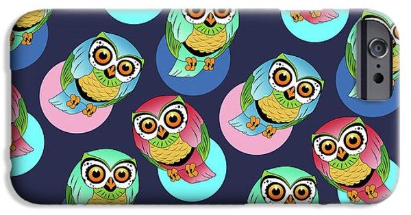 Dissing iPhone 6 Case - Cute Birds  by Mark Ashkenazi