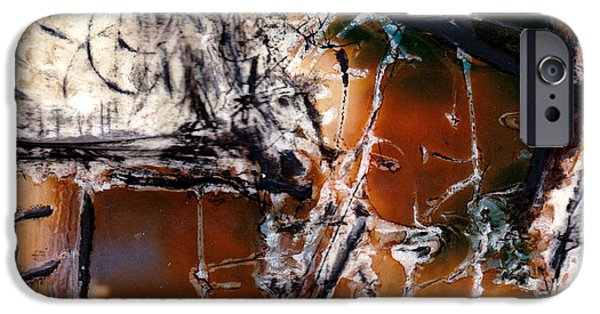 Photo Manipulation Pastels iPhone Cases - Dan iPhone Case by JC Armbruster