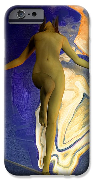 Sensitivity iPhone Cases - Dance of  Salome iPhone Case by Joaquin Abella