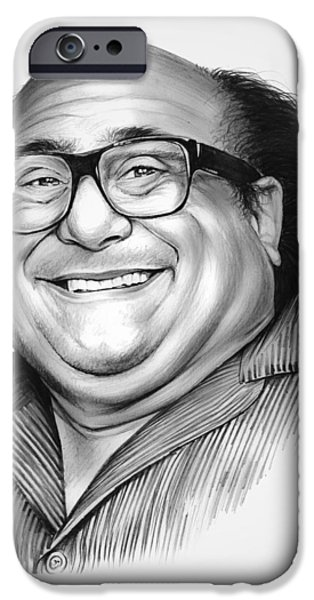 Superheroes iPhone 6 Case - Danny Devito by Greg Joens