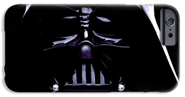 Epic iPhone Cases - Dark Side iPhone Case by George Pedro