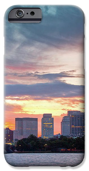 Dawn on the Charles River iPhone Case by Susan Cole Kelly