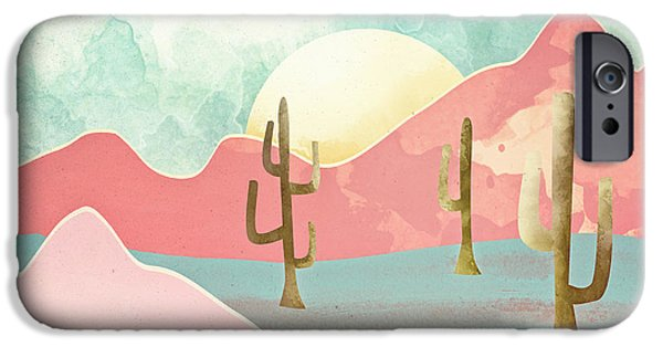Landscapes iPhone 6 Case - Desert Mountains by Spacefrog Designs