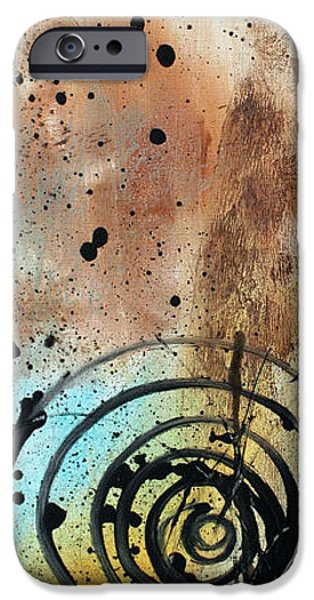 Rust iPhone Cases - Desert Surroundings 4 by MADART iPhone Case by Megan Duncanson